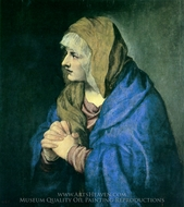 Mater Dolorosa painting reproduction, Titian