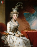 Matilda Stoughton de Jaudenes painting reproduction, Gilbert Stuart
