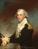 Matthew Clarkson painting reproduction, Gilbert Stuart