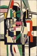 Mechanical Elements by Fernand Leger