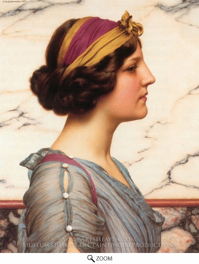 Painting Reproduction of Megilla, John William Godward