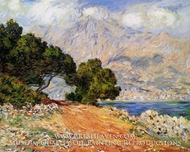 Menton Seen from Cap Martin by Claude Monet