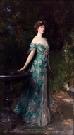 Millicent, Duchess of Sutherland painting reproduction, John Singer Sargent