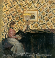 Misia at the Piano by Edouard Vuillard