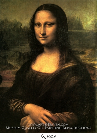 Painting Reproduction of Mona Lisa (La Gioconda), Leonardo Da Vinci