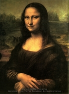 Mona Lisa (La Gioconda) painting reproduction, Leonardo Da Vinci