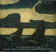 Moonlight Marine painting reproduction, Albert Pinkham Ryder