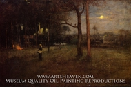 Moonlight, Tarpon Springs, Florida by George Inness