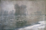 Morning Haze painting reproduction, Claude Monet