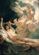 Morpheus and Iris painting reproduction, Pierre Narcisse Guerin