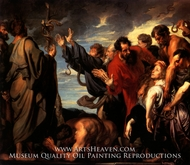 Moses and the Brazen Serpent by Sir Anthony Van Dyck