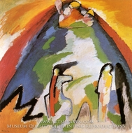 Mountain by Wassily Kandinsky