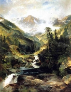 Mountain of the Holy Cross painting reproduction, Thomas Moran