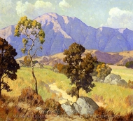 Mountain Shadows painting reproduction, Maurice Braun