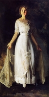 Mrs. Albert M. Miller painting reproduction, George Bellows