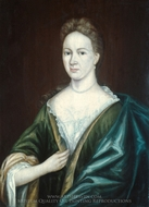 Mrs. Augustus Jay painting reproduction, Gerrit Duyckinck