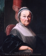 Mrs. Benjamin Simons painting reproduction, Henry Benbridge