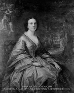 Mrs. Birdsall Cornell by Daniel Huntington