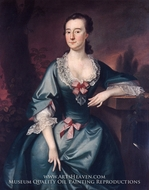 Mrs. David Chesebrough by Joseph Blackburn
