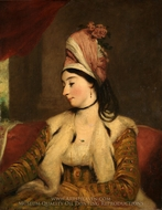 Mrs. George Baldwin (Jane Maltass) painting reproduction, Sir Joshua Reynolds