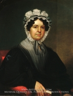 Mrs. Gideon Tucker painting reproduction, William Sidney Mount