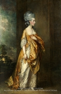 Mrs. Grace Dalrymple Elliotte by Thomas Gainsborough