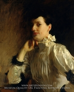 Mrs. Henry Galbraith Ward painting reproduction, John Singer Sargent