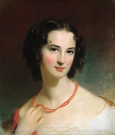 Mrs. James Montgomery, Jr. painting reproduction, Thomas Sully