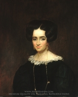Mrs. John Adams Conant painting reproduction, William Dunlap