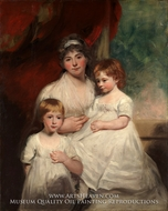 Mrs. John Garden and Her Children by John Hoppner
