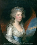 Mrs. Joseph Anthony Jr. (Henrietta Hillegas) painting reproduction, Gilbert Stuart