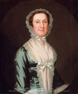 Mrs. Joseph Reade painting reproduction, John Wollaston