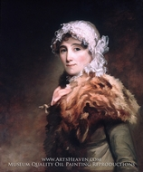 Mrs. Katherine Matthews painting reproduction, Thomas Sully