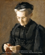 Mrs. Mary Arthur painting reproduction, Thomas Eakins
