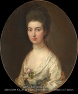 Mrs. Ralph Izard (Alice De Lancey) by Thomas Gainsborough