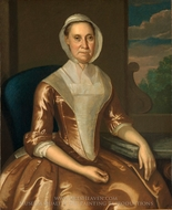 Mrs. Richard Galloway painting reproduction, John Hesselius