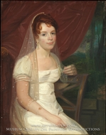 Mrs. Robert Dickey (Anne Brown) by John Wesley Jarvis