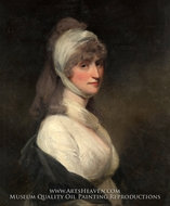 Mrs. Thomas Pechell by John Hoppner
