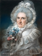 Mrs. William Man Godschall (Sarah Godschall) by John Russell