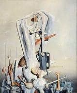 My Life, White and Black by Yves Tanguy