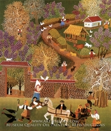 My Village in the Spring painting reproduction, Milan Rasic