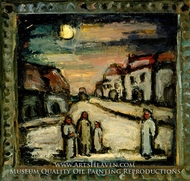 Mythical Landscape (Paysage legendaire) by Georges Rouault