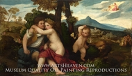 Mythological Scene by Titian