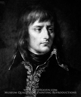 Napoleon Bonaparte painting reproduction, French Painter