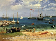 Nassau Harbor by Albert Bierstadt