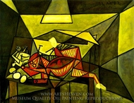Nature Morte painting reproduction, Pablo Picasso (inspired by)