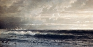 Near Land's End, Cornwall painting reproduction, William Trost Richards