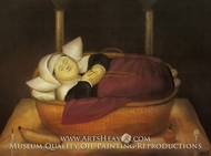New-born Nun by Fernando Botero