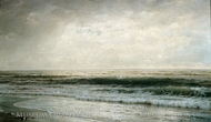 New Jersey Beach painting reproduction, William Trost Richards