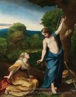 Noli Me Tangere painting reproduction, Correggio